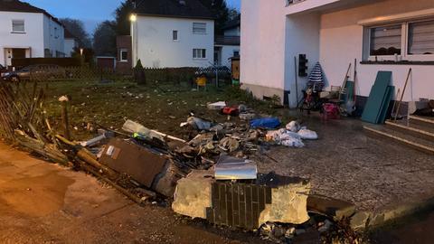 Unfallort Frankfurt-Fechenheim