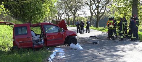 Tödlicher Autounfall im Odenwald   hessenschau.de   Panorama