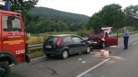 Unfall Knüllwald