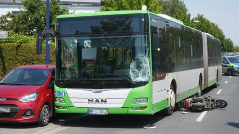 Unfall in Offenbach