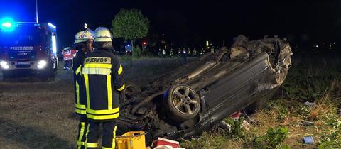 Unfall Riedstadt-Wolfskehlen