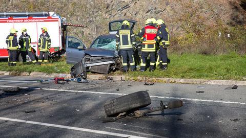 Unfall Schlangenbad B260