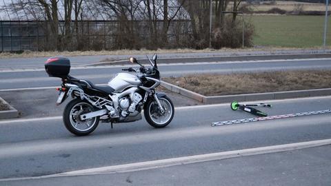 Ermittlungen am Unfallort