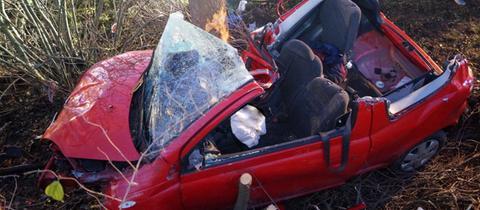 Der Unfall ereignete sich auf der B253 zwischen Fritzlar und Wabern.