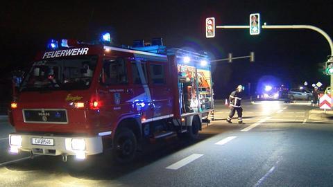 Die Unfallstelle in Weiterstadt
