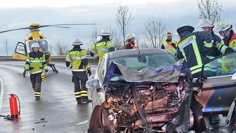 Unfall auf dem Westring in Fulda