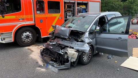 Unfall auf A67