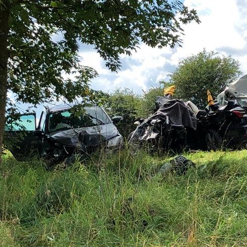 Unfall an der B253