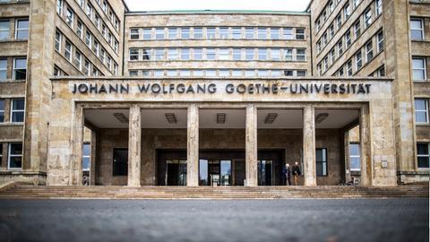 Goethe Uni Frankfurt, Hauptportal