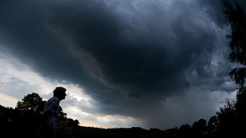 Wetter Unwetter Gewitter Sujet