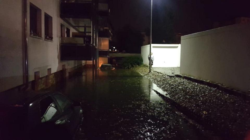 Unwetter Hanau