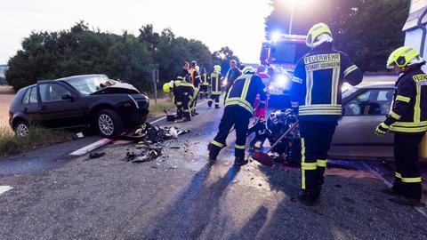 Unfallautos in Usingen