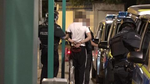 Jugendliche werden festgenommen