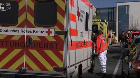 Evakuierung in Wiesbaden