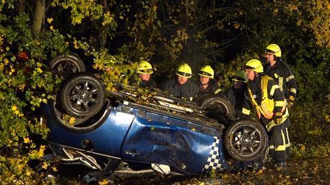 Unfallwagen in Viernheim