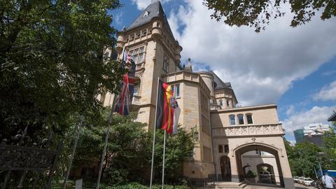 Die Villa Kennedy in Frankfurt-Sachsenhausen