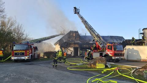 Feuerwehreinsatz in Villmar