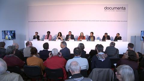 Documenta Pressekonferenz