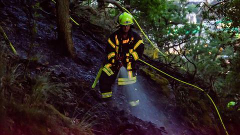 Feuerwehreinsatz bei Bad Schwalbach