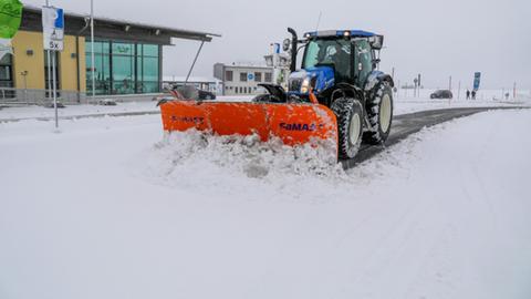 Wasserkuppe Schnee