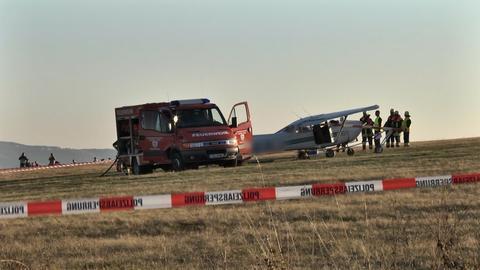 Bei einem Flugzeugunglück im Oktober 2018 sterben in Gersfeld eine Mutter und ihre beiden Kinder.
