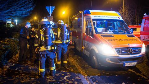 Rettungseinsatz in Wiesbaden