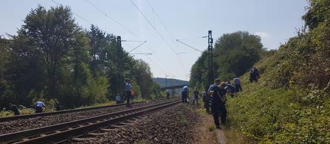 Weitere Leichenteile an Bahngleis gefunden