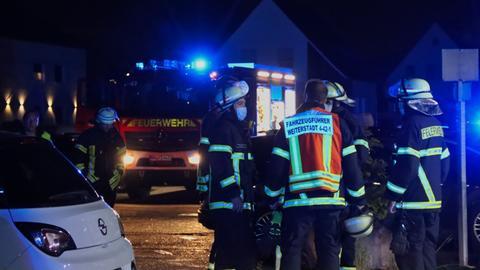 Feuerwehreinsatz bei Küchenbrand in Weiterstadt (Darmstadt-Dieburg)