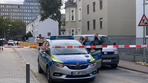 Bei Bauarbeiten im Frankfurter Gallus-Viertel wurde eine 50kg-Weltkriegsbombe entdeckt