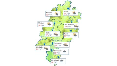 Wetter in Hessen