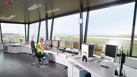 Wetterwarte am Frankfurter Flughafen