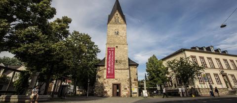 Wiesbadener Stadtteil Bierstadt, hier im Bilddie Evangelische Kirche in der Venatorstraße