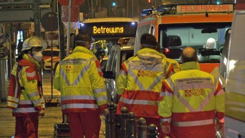 Der Rettungsdienst im Einsatz in Wiesbaden