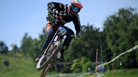 Mountainbiker in Willingen