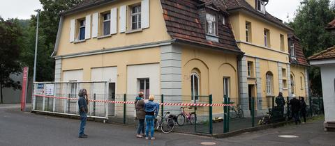Blick auf Witzenhausener Flüchtlingsunterkunft