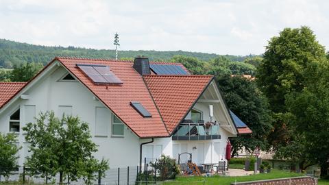Das Wohnhaus von Walter Lübcke in Wolfhagen-Istha.