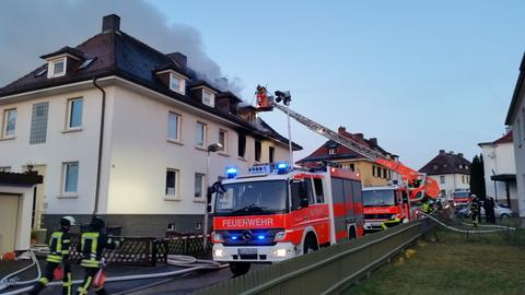 Wohnhausbrand in Kassel-Fasanenhof