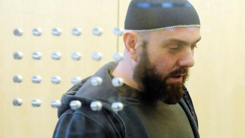 Adem Yilmaz im Gerichtssaal im Jahr 2010.