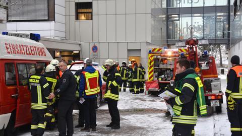 Zimmerbrand Krankenhaus Wetzlar