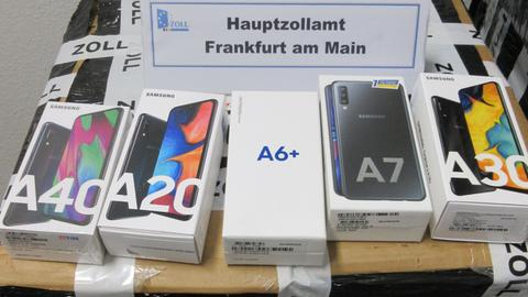 Gefälschte Mobiltelefone
