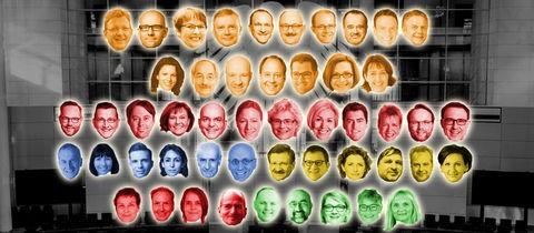 Das sind die 50 hessischen Bundestagsabgeordneten.