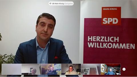 Abdullah Unvar bei der SPD-Wahlkreiskonferenz