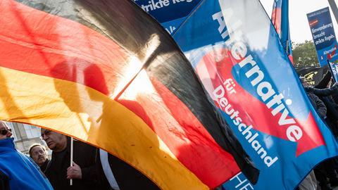 Der AfD wird Fremdenfeindlichkeit vorgeworfen.