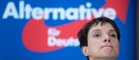 AfD-Bundesvorsitzende Frauke Petry im Oktober bei einer Pressekonferenz