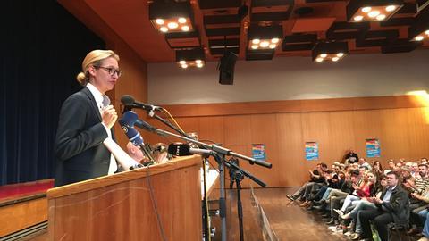 AfD-Spitzenkandidatin Alice Weidel