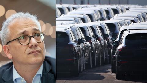 Hessens Verkehrsminister Tarek Al-Wazir kann den Erfolg der SUV nicht verstehen.