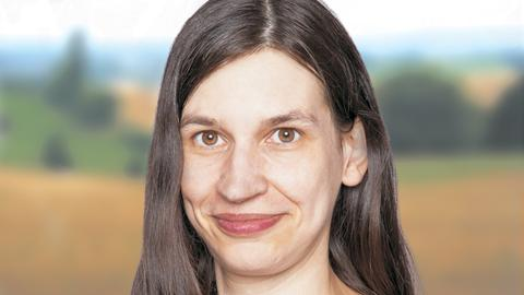 Landratskandidatin Anna Hofmann, Die Linke