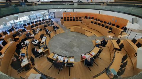 Erste Sitzung des Untersuchungsausschusses zum Mordfall Lübcke