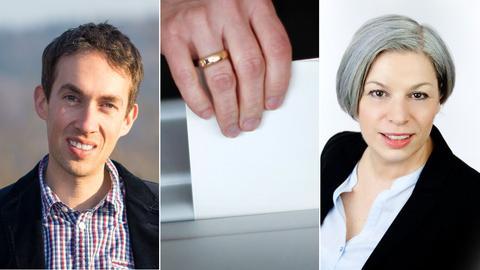 Marcus Dittrich und Petra Werner