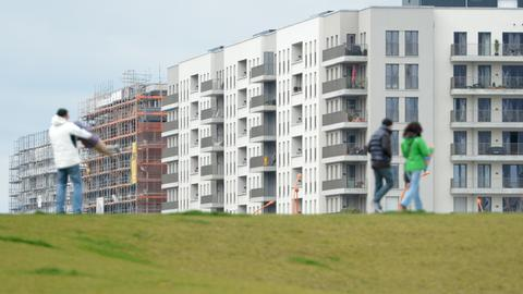 Neubaugebiet in Frankfurt